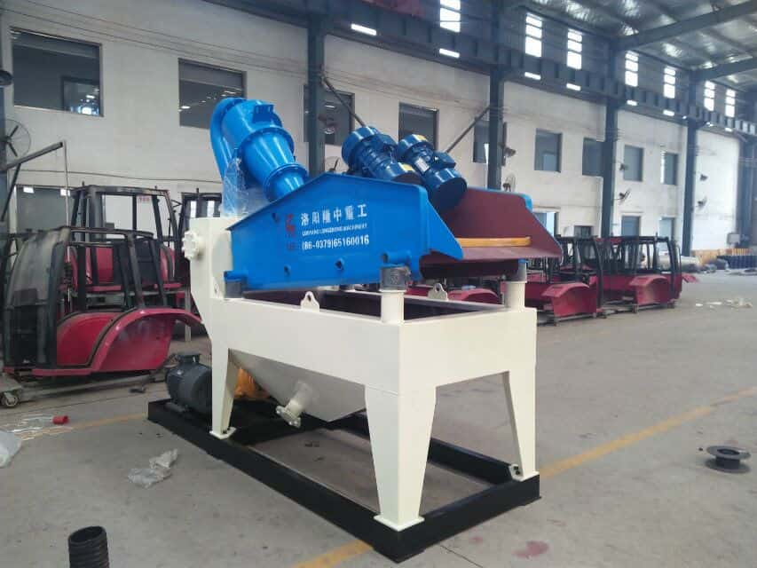 The function of screen about fine sand recovery machinery