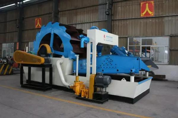 New environmental protection sand washing production line