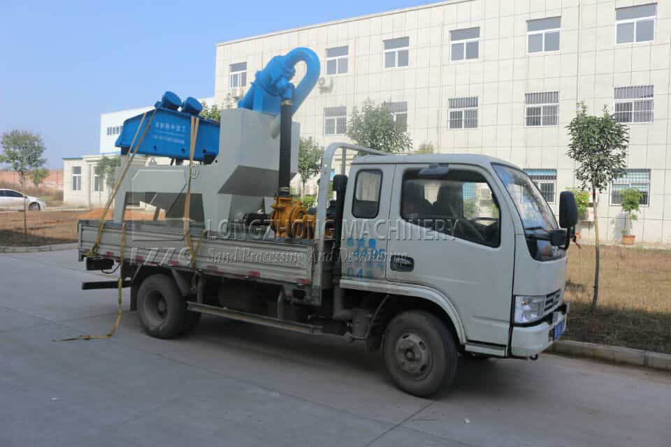 Longzhong makes high quality sand cleaning products