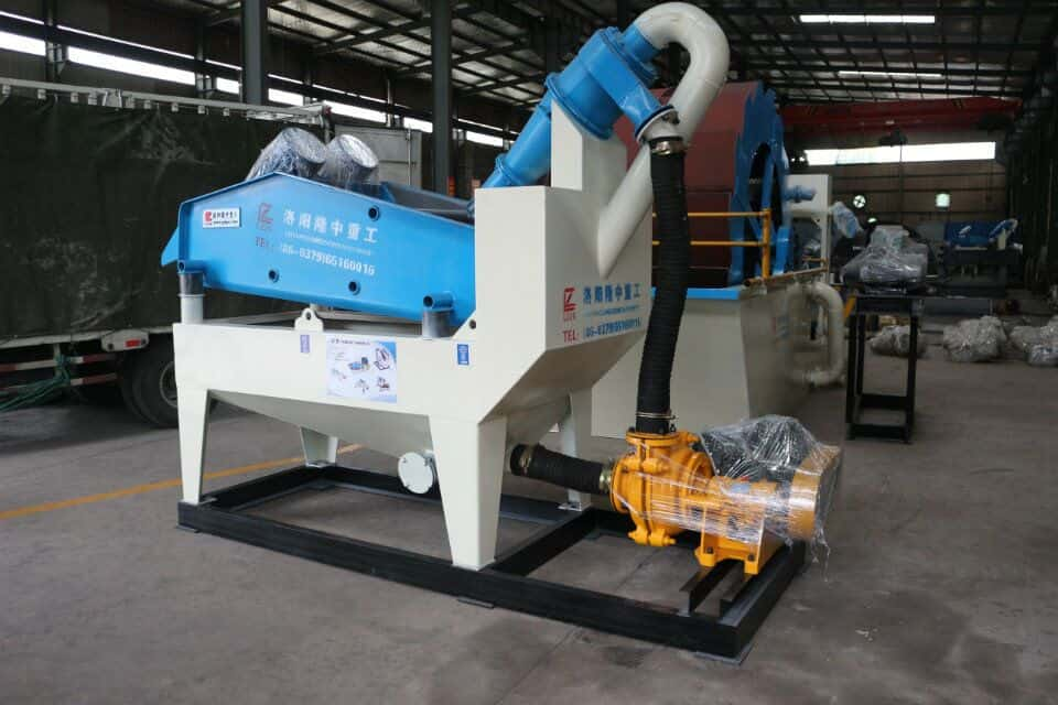 Details of installation and preservation of the fine sand recycling machine