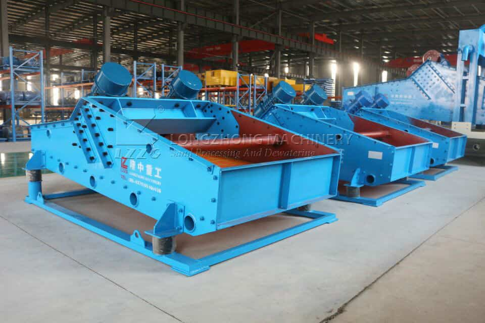 Why is dewatering screen different