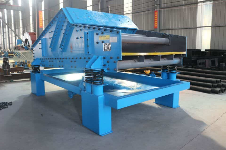 quality of dewatering screen