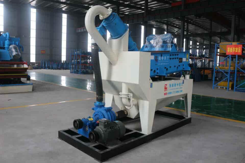 Longzhong river pebble green sand recycling machine.