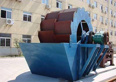 bucket wheel washer