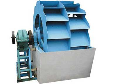 wheel sand washer