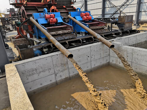 Sand Washing Water