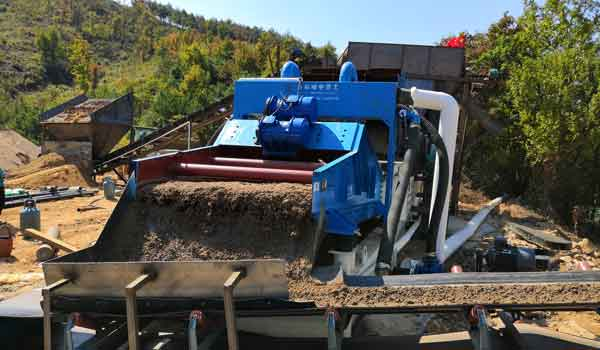 High-frequency Dewatering Screen