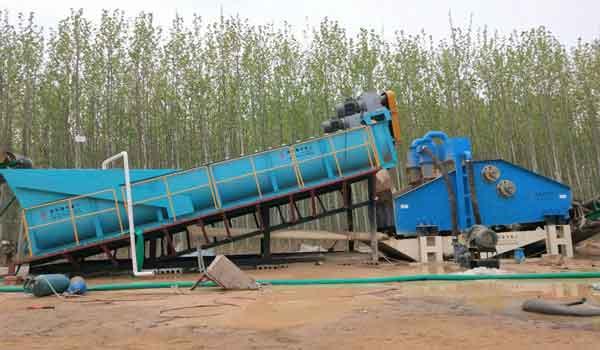 China Silica Sand Washing Machine