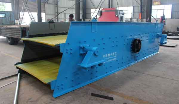 vibration frequency of the dewatering screen