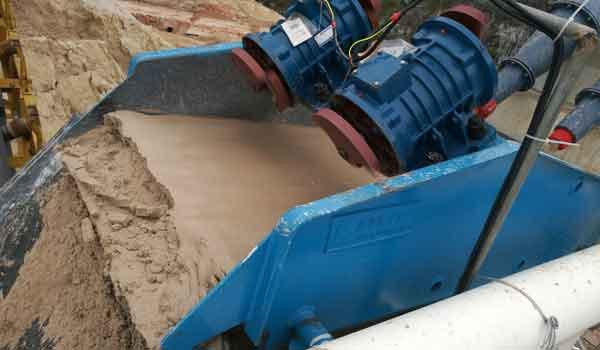 Fine Sand Recovery Machine In China
