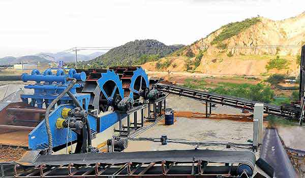 oil fracturing sand washing production lines