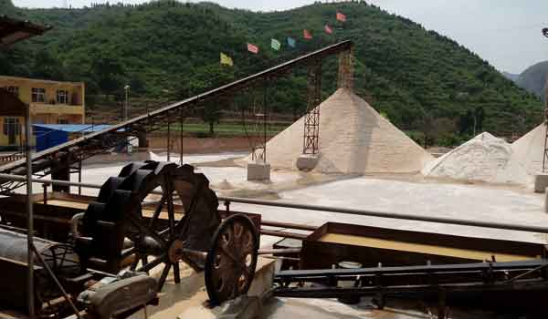 Silica Sand Mining Process