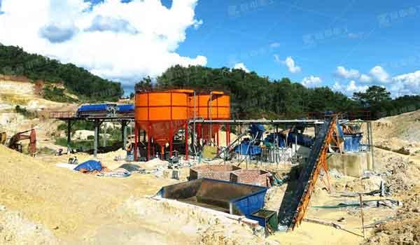 Potash feldspar production line design plan