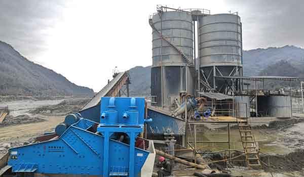 quartz sand production line