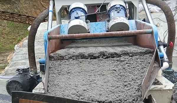 fine sand recovery equipment