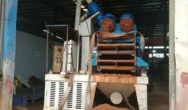 machine-made sand-gravel slurry